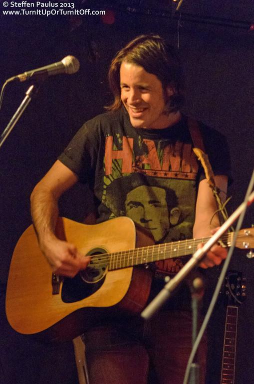 Dustin Bentall & The Smokes @ Rivoli, Toronto, ON, 24-Jan 2013