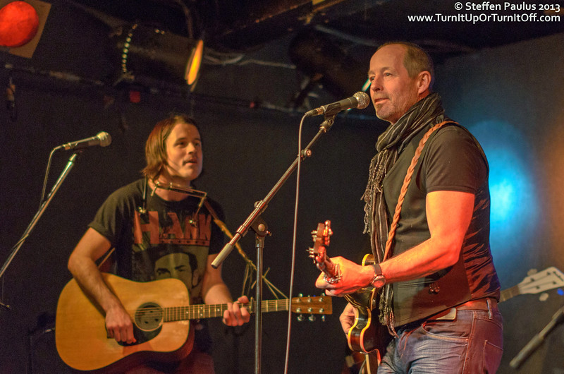 Barney Bentall joining Dustin Bentall & The Smokes @ Rivoli, Toronto, ON, 24-Jan 2013