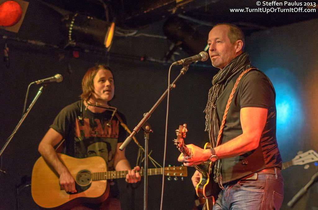 Barney Bentall joining Dustin Bentall & The Smokes @ Rivoli, Toronto, ON, 24-Jan 2013
