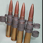 Example of similar machine gun belt links