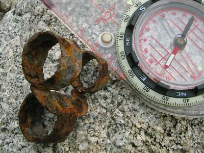 WWII machine gun belt link