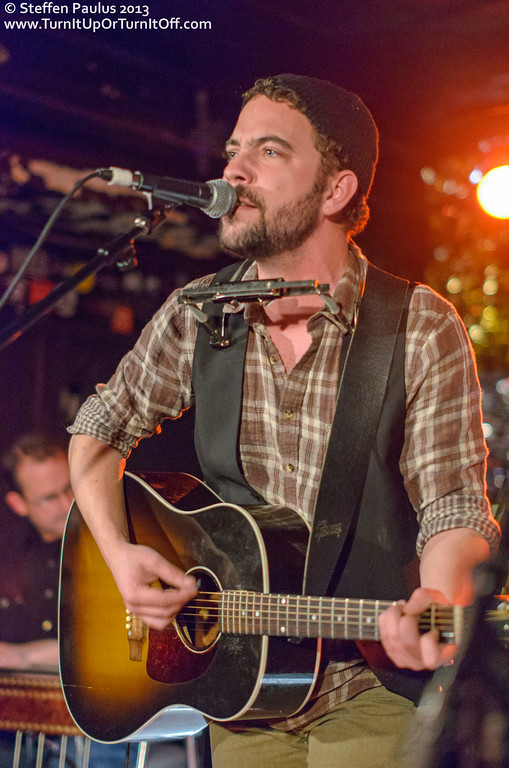 Justin Rutledge @ Horseshoe Tavern, Toronto, ON, 20-March 2013 (Outlaws & Gunslingers: Americana Music Association Showcase at CMW 2013)