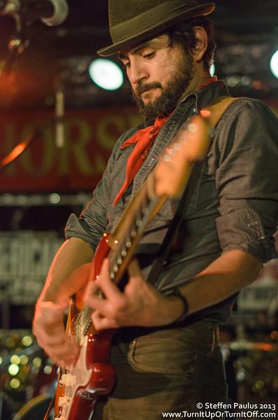 Jim Cuddy, Danny Michel & Quique Escamilla @ Horseshoe Tavern, Toronto, ON, 20-March 2013 (Outlaws & Gunslingers: Americana Music Association Showcase at CMW 2013)