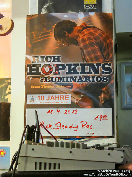 Rich Hopkins & Luminarios @ Rock Steady Records, Berlin, Germany, 15-Apr 2013