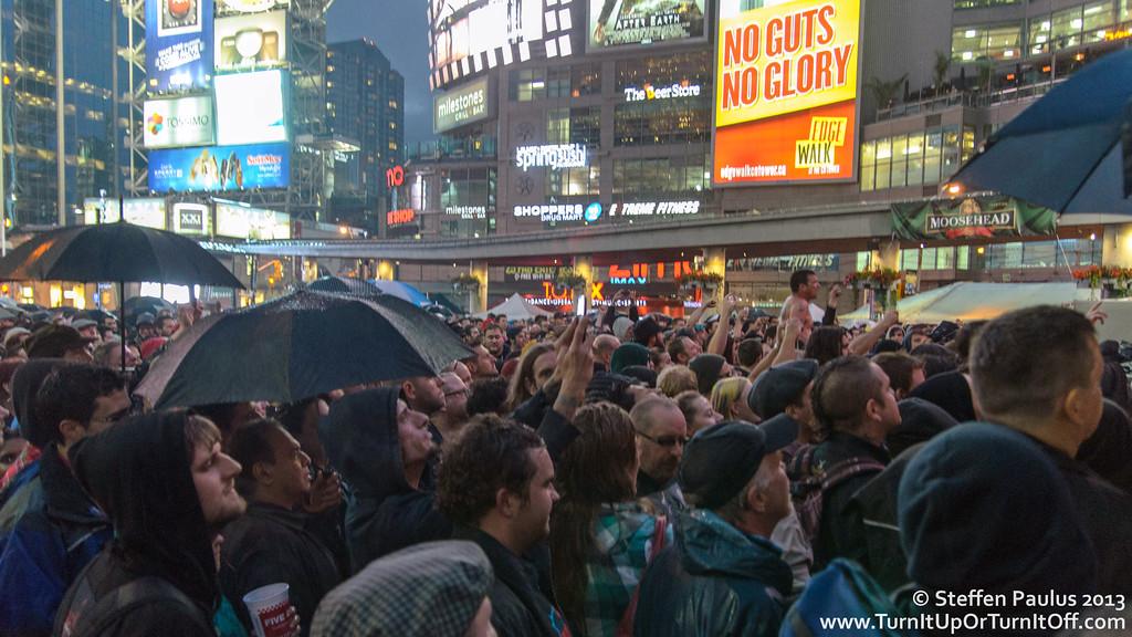Social Distortion @ Yonge Dundas Square, Toronto, ON, 13-June 2013 (NXNE 2013)