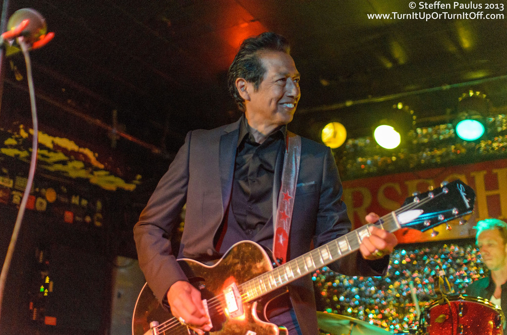 Alejandro Escovedo & The Sensitive Boys @ Horseshoe Tavern, 7-July 2013