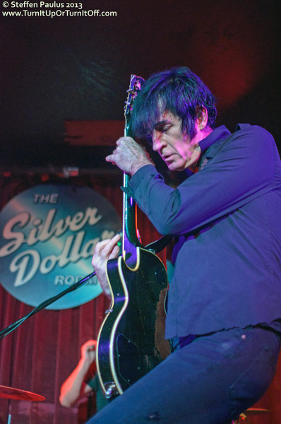 Sonny Vincent @ Silver Dollar, Toronto, ON, 2-August 2013