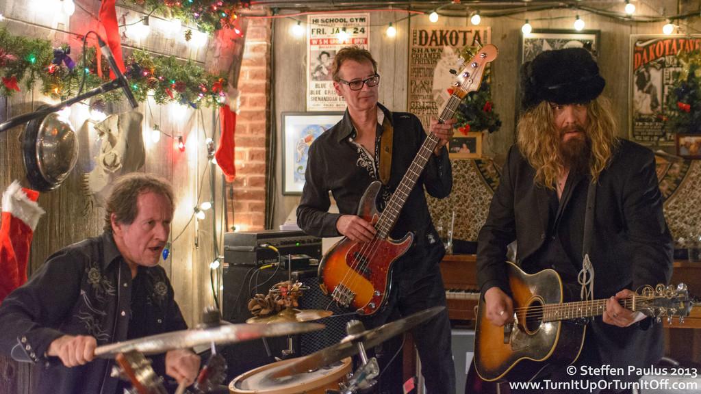 Blackie & The Rodeo Kings @ Dakota Tavern, Toronto, ON, 4-Dec 2013