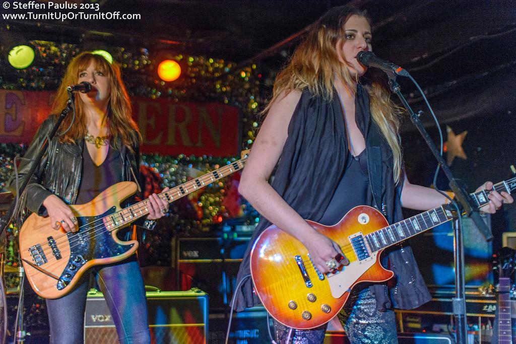 Ladies Of The Canyon @ Horseshoe Tavern, Toronto, ON, 14-Dec 2013