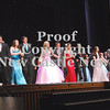 Candidates and their escorts take the stage at the 2014 Lawrence County's Distinguished Young Women Scholarship Program.