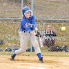 Erica Galvin/NEWS<br /> Casey Brophy hits a double in the first inning.
