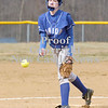 Erica Galvin/NEWS<br /> Ariel Junkin pitches to an awaiting batter in the second inning.
