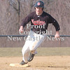 Erica Galvin/NEWS<br /> Aaron DeSantis rounds third base and heads for home in the third inning.