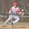Erica Galvin/NEWS<br /> Neshannock's John Conglose fields a ball in the seventh inning.