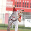 Erica Galvin/NEWS<br /> Neshannock's John Conglose delivers a pitch in the first inning.
