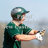 Erica Galvin/NEWS<br /> Laurel's Nick Peluso signs to his team before crossing the plate after his home-run in the first inning.