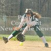 Erica Galvin/NEWS<br /> Stephanie Telesz eyes a ground ball in the second inning.