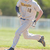 Erica Galvin/NEWS<br /> Wilmington's Nate Anthony sprints to third base during his homerun in the first inning.
