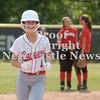 Erica Galvin/NEWS<br />  Rayanna Furst approaches third base after hitting a home run in the sixth inning.