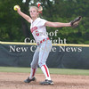 Erica Galvin/NEWS<br /> Madison Shaffer delivers a pitch to an awaiting batter in the second inning.
