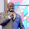 Courtney Caughey-Stambul/NEWS<br /> Apostle David Young Sr. delivers Sunday's keynote speech.