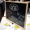 Courtney Caughey-Stambul/NEWS<br /> Brewers from Outta Focus Brewing (OFB) offer samples of their beers, including a Peanut Butter Porter, to guests at Super Brew IV. OFB brews their beers in New Castle and Boardman, OH.
