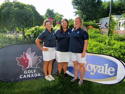 Provincial Amateur Women - Jenna Roadley, Bri - ann Tokariwski & Mindy Lichtman
