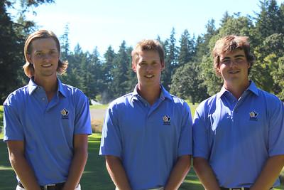 Provincial Amateur Men - Charlie Boyechko, Derek East & Aaron Cockerill