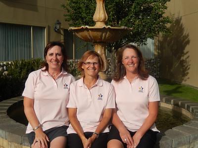 Provincial Senior Women - Maria Funston, Tammy Gibson & Rhonda Orr