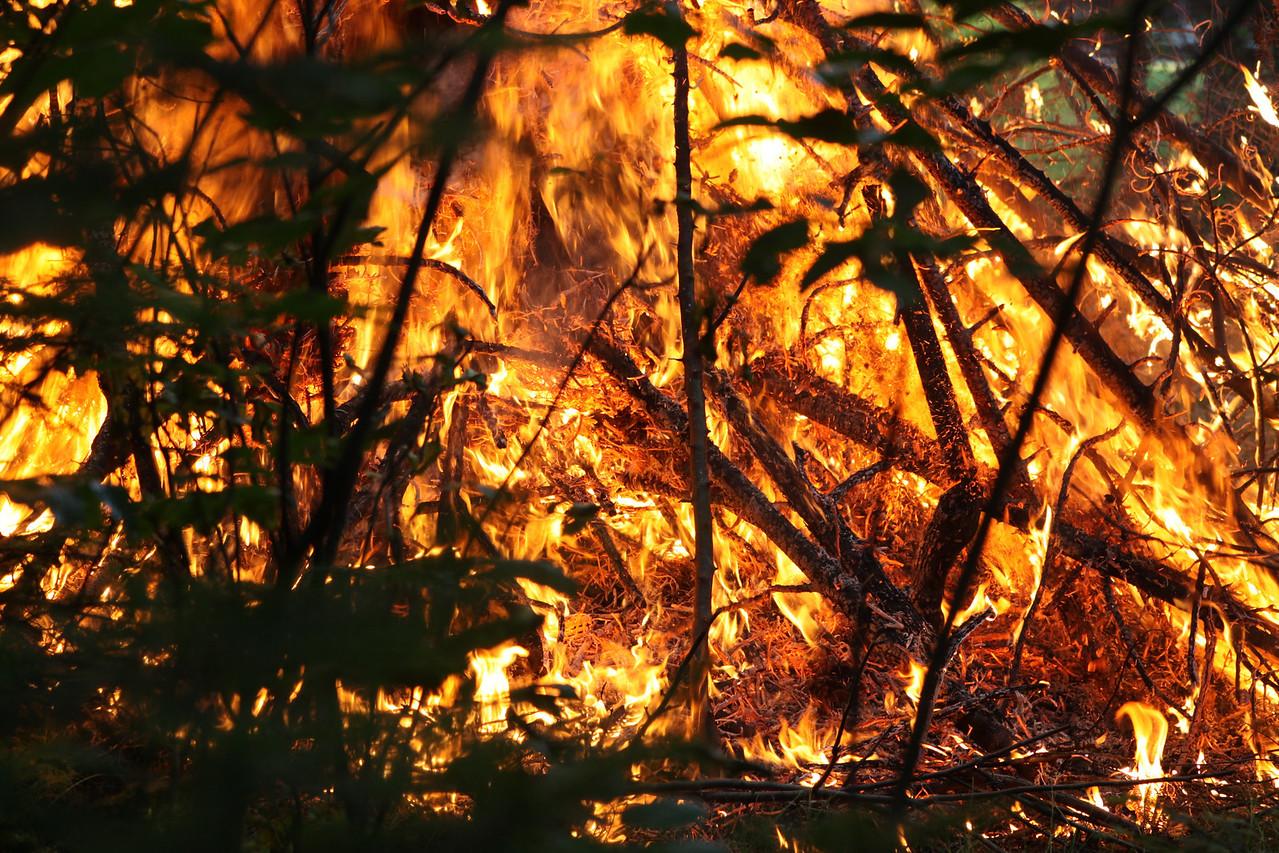 Burning the Scrap heap