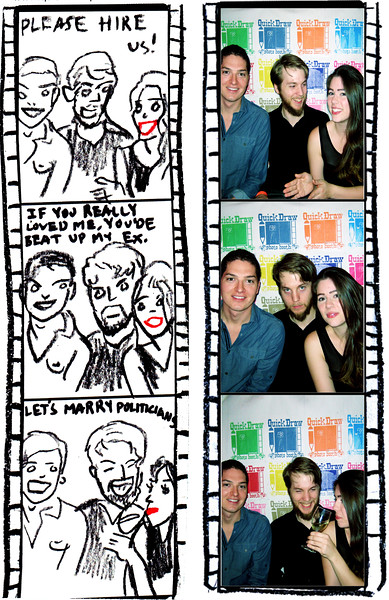 """<a href= """"http://quickdrawphotobooth.smugmug.com/Other/5x7/28769488_FWV43t#!i=2443307519&k=KVGHL6w&lb=1&s=A"""" target=""""_blank""""> CLICK HERE TO BUY PRINTS</a><p> Then click on shopping cart at top of page."""