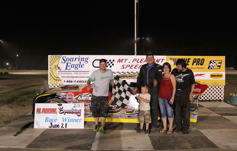 Howe Racing Enterprises Pro Stock Feature Winner #94 Chad Raby.