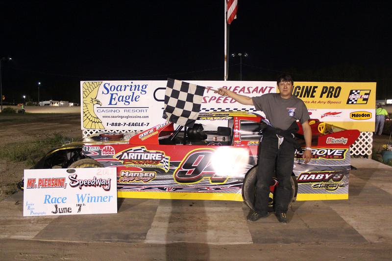 Howe Racing Enterprises Pro Stock Feature Winner #94 Chad Raby.