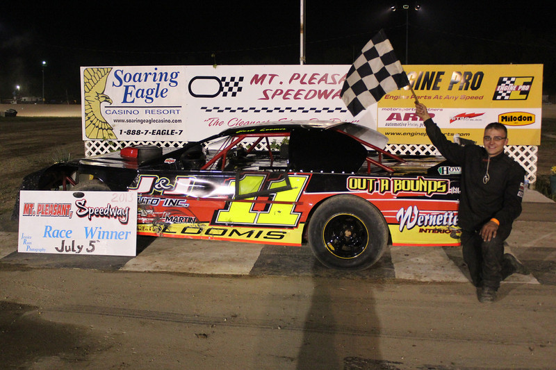 Howe Racing Enterprises Pro Stock Feature Winner #11 Josh Loomis.