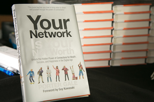 """@PorterGale Book Launch of """"Your Network is your NetWorth"""""""