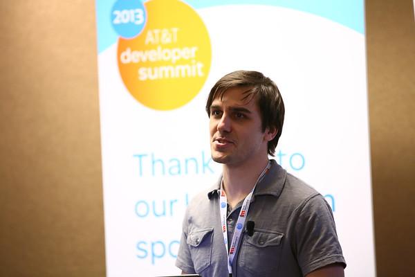 2013 AT&T Developer Summit Hackathon at CES