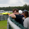 Fans can always get close to the action at NJMP.<br /> <br /> ©Sam Feinstein