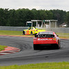 "Tim Cowen ""goes Rallycross"" at turn 5, followed by James Hylton.<br /> <br /> ©Nate Feinstein"