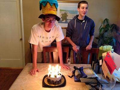 Adam's 16th Birthday