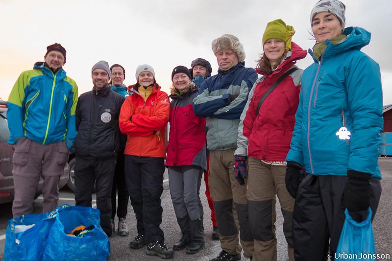 Tack & hej med en extra deltagare från Roslagens grupp, trevligt att kunna hjälpa varandra när det behövs.