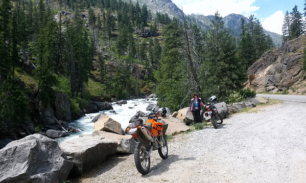 Icicle Creek, day after the Dirty Face Ride