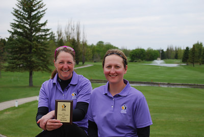 Rhonda Orr, Southwood Golf & Country Club Faye Zachedniak, Roblin Golf & Country Club Alternate Shot - Gross Division Winners