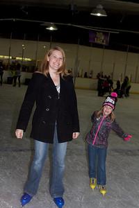 Ice skating like pros!