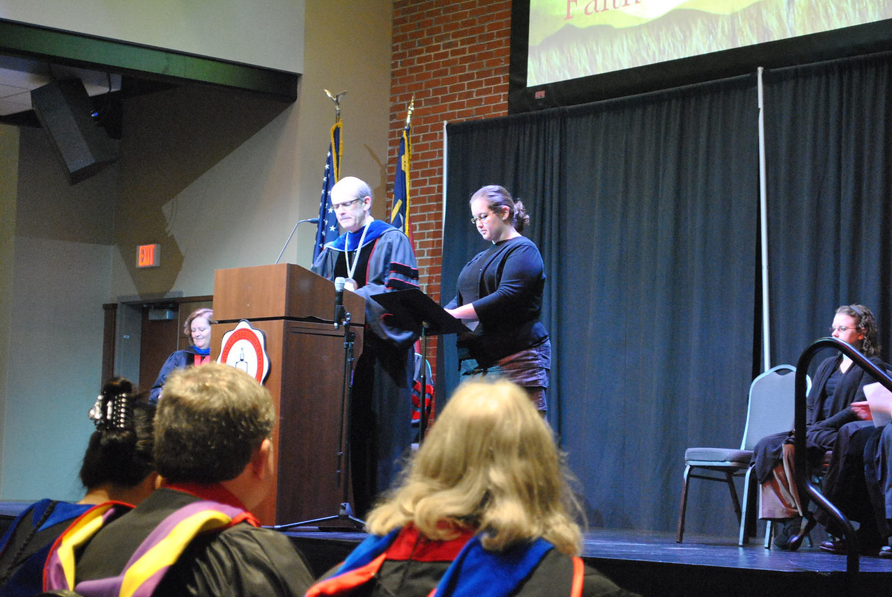 Dr. Bonner introduces the 2013 Academic Awards ceremony.