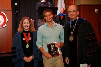 58th Academic Awards Day; April 30, 2013. First Year History Award