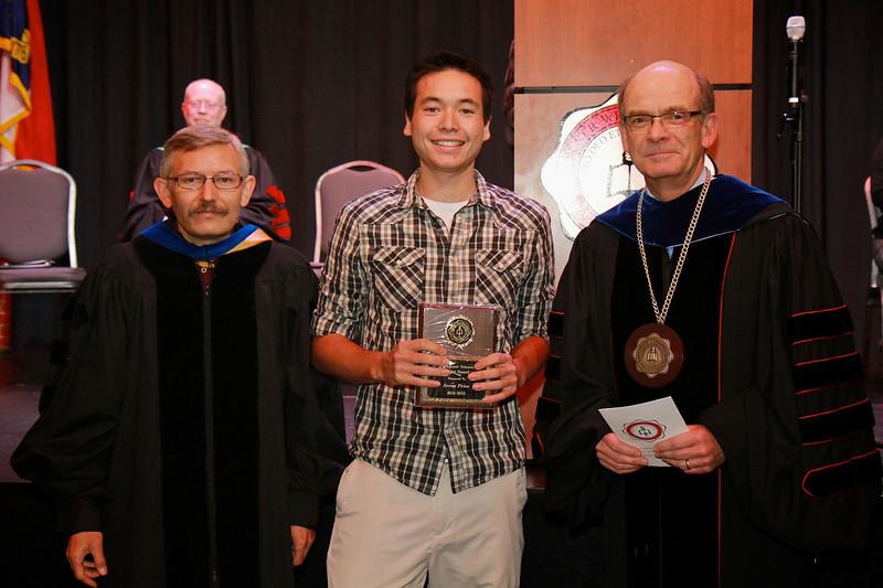 58th Academic Awards Day; April 30, 2013. Computer Science Major Award