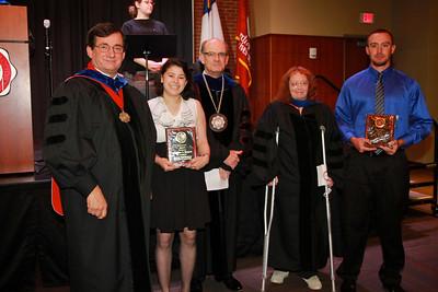 58th Academic Awards Day; April 30, 2013. Sociology Award
