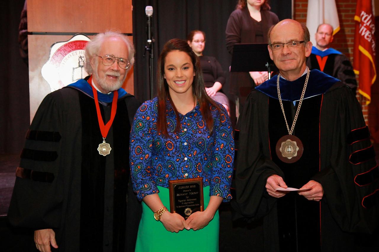 58th Academic Awards Day; April 30, 2013. Journalism Award