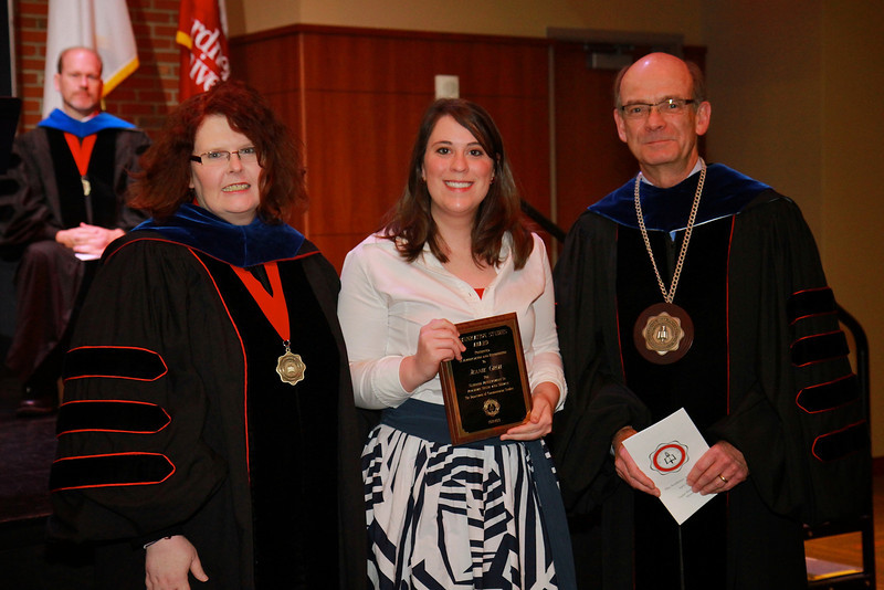 58th Academic Awards Day; April 30, 2013. Communication Studies Award