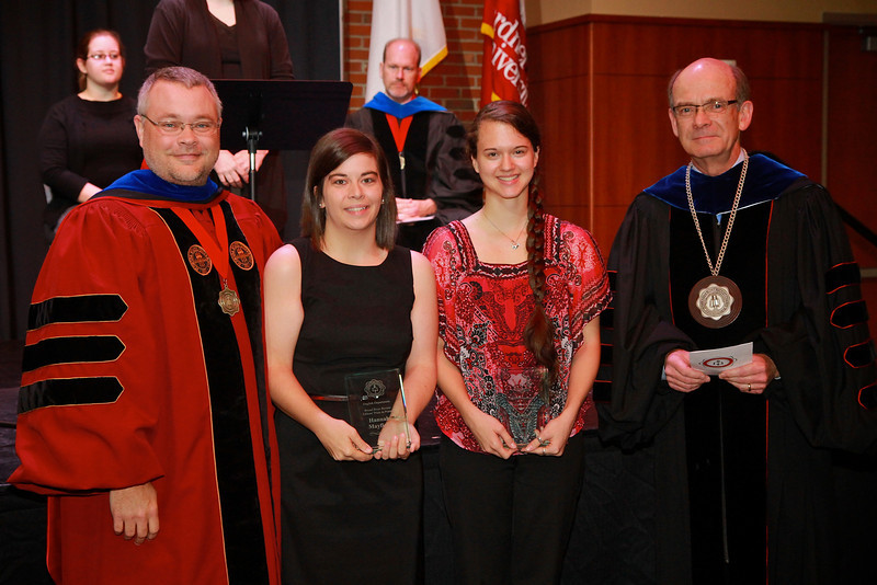 58th Academic Awards Day; April 30, 2013. Broad River Review Editor's Prize in Poetry